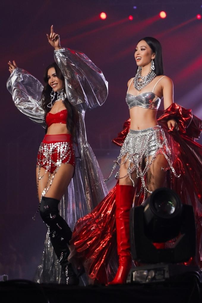 Hoa hậu Tiểu Vy diễn nội y thể thao