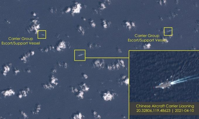 Tàu sân bay Mỹ   Trung dằn mặt nhau trên Biển Đông