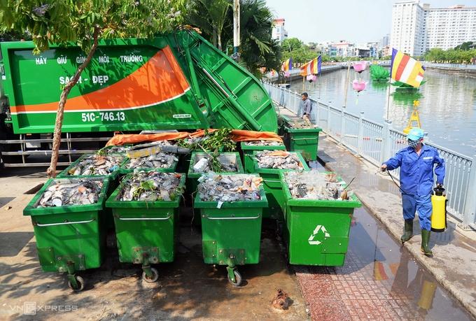 Vì sao cá chết trắng kênh Nhiêu Lộc - Thị Nghè
