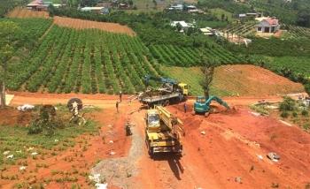 Bộ TN&MT thanh tra thực trạng xẻ đồi, phân lô bán nền tràn lan tại Lâm Đồng