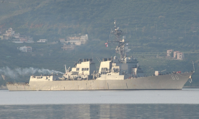 Lo chọc giận Nga, Mỹ hủy đưa tàu chiến đến Biển Đen