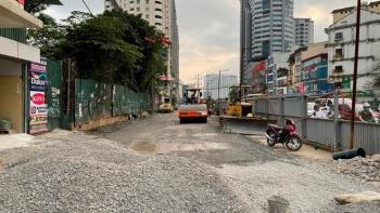 Chấn chỉnh thi công hầm chui nút giao Lê Văn Lương - vành đai 3