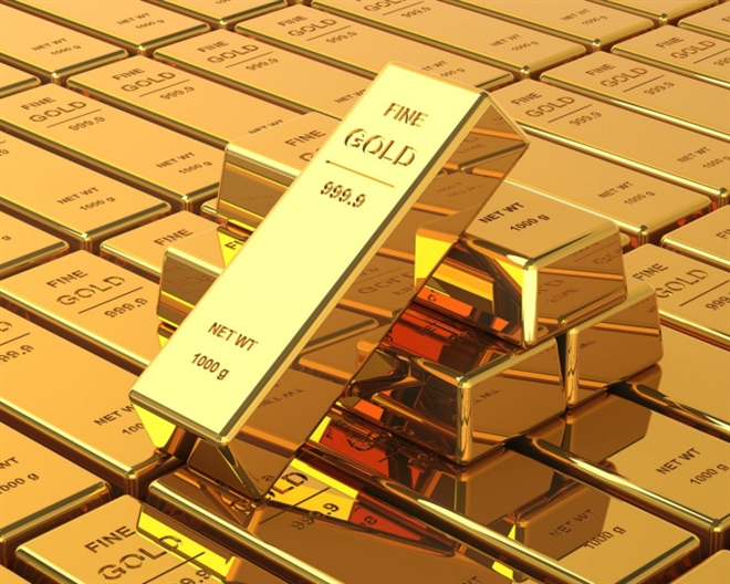 Giá vàng thế giới tăng mạnh, chứng khoán Mỹ lên điểm
