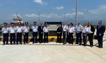Mỹ bàn giao trung tâm huấn luyện cho Cảnh sát biển Việt Nam