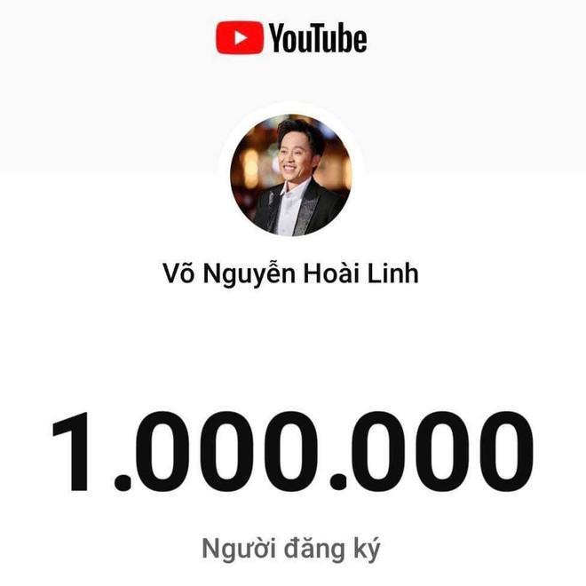 Danh hài Hoài Linh đạt nút vàng Youtube sau 2 tháng 11 ngày ảnh 1