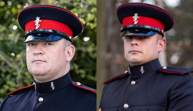 Sĩ quan Anh tung đồng xu để giành vinh dự lái xe chở linh cữu Hoàng thân Philip - 1