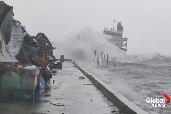 Siêu bão Surigae không ảnh hưởng đến Việt Nam