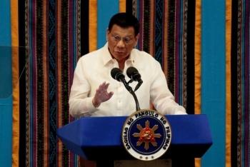 Ông Duterte muốn điều tàu chiến đòi chủ quyền tài nguyên ở Biển Đông