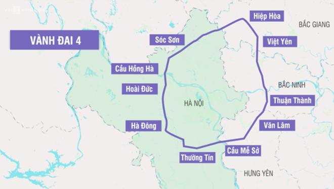 Hà Nội khởi động làm đường vành đai 4