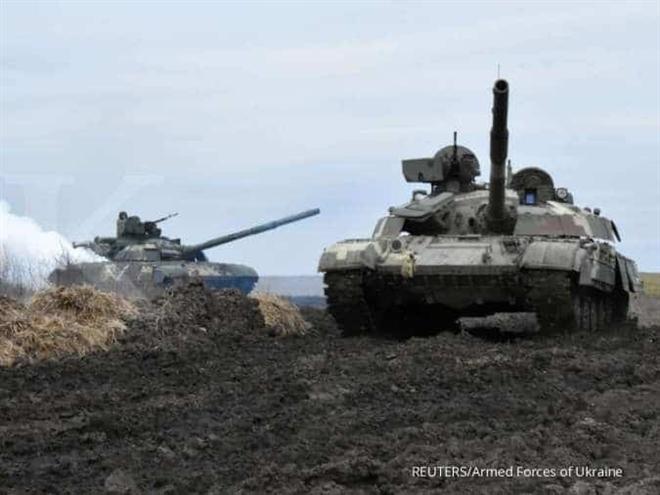 Nga tập trận quy mô lớn sát biên giới Ukraine - 1