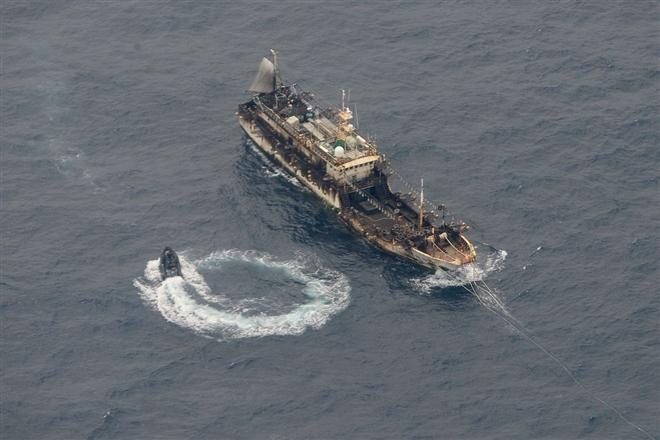 'Đại ngư thuyền' Trung Quốc đánh cá, tàn phá biển và bá quyền đại dương - 1