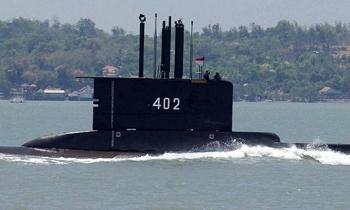 Phát hiện vật thể nghi là tàu ngầm Indonesia mất tích