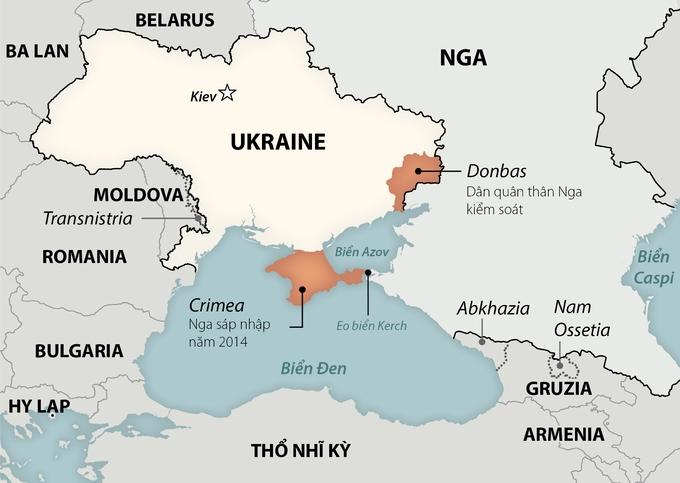 Căng thẳng Nga - NATO đốt nóng Biển Đen