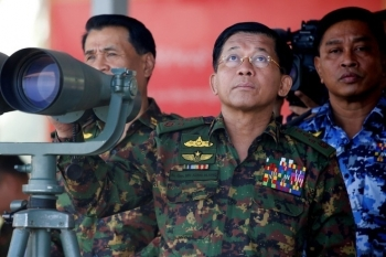 Phe đối lập kêu gọi Interpol bắt giữ Thống tướng Min Aung Hlaing