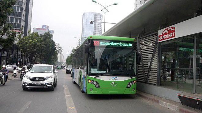 Lãnh đạo Sở GTVT Hà Nội báo cáo gì về tuyến buýt nhanh BRT 01?