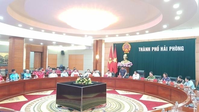 Bàn giao CLB Hải Phòng cho công ty của ông Hoàn 'Pháo' - 1