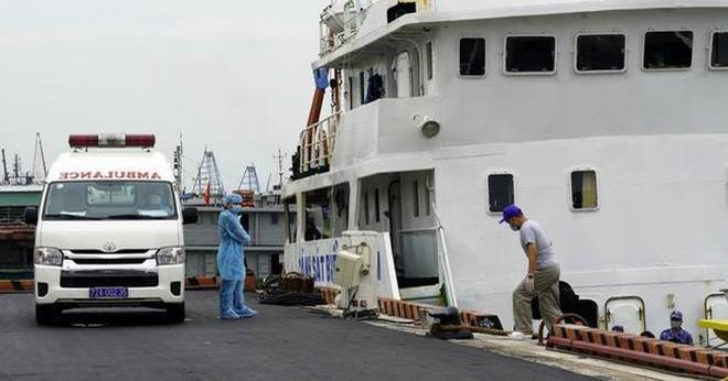 6 ca Covid-19 mới, một người phát hiện khi đang cách ly trên tàu neo đậu ở Vũng Tàu