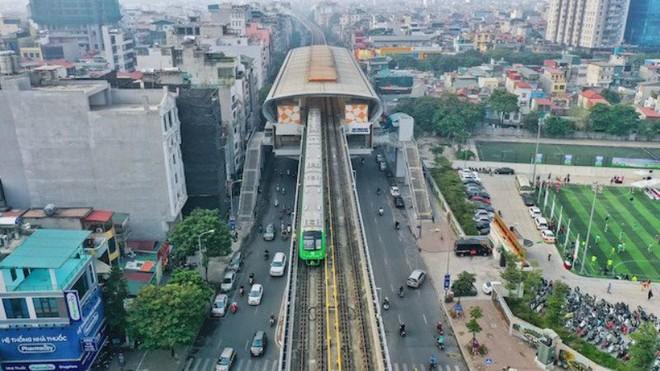 Đường sắt đô thị Cát Linh- Hà Đông sẽ chính thức vận hành thương mại từ 1-5? ảnh 1