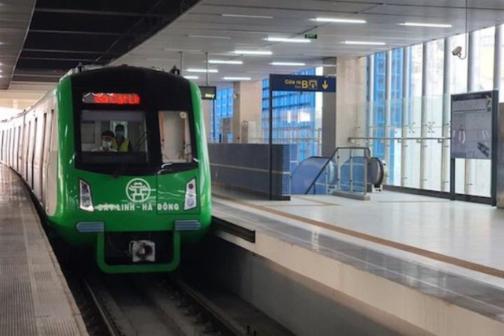 Đường sắt đô thị Cát Linh- Hà Đông sẽ chính thức vận hành thương mại từ 1-5?