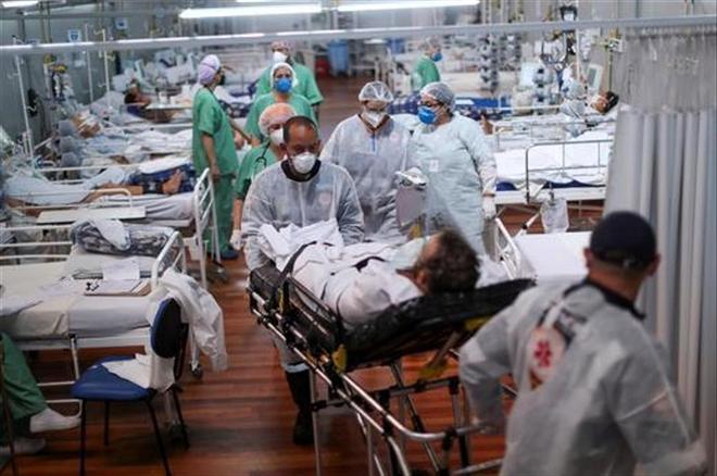 Brazil vượt mốc 400.000 người chết vì COVID-19   - 1