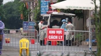 Phong tỏa 28 ngày đối với thôn có 5 ca mắc COVID-19 ở Hà Nam