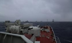 Tàu hộ vệ Việt Nam diễn tập cùng chiến hạm 11 nước ở Singapore