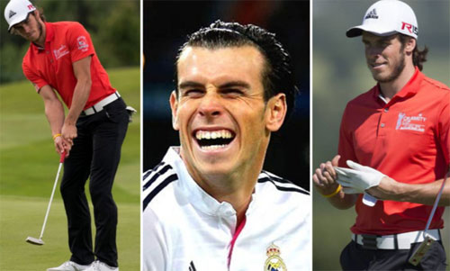 bale doa o lai va choi golf tai real madrid