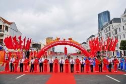 Thủ tướng dự lễ thông xe kỹ thuật nút giao Nam Cầu Bính, Hải Phòng