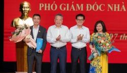 NSND Công Lý giữ chức Phó Giám đốc Nhà hát Kịch Hà Nội