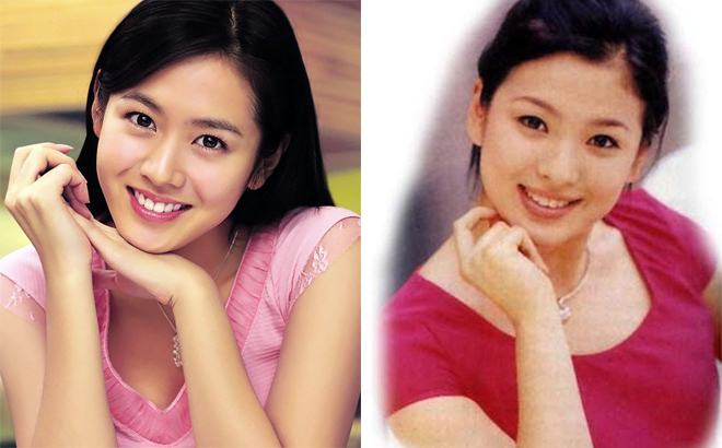 song hye kyo son ye jin tren ban can