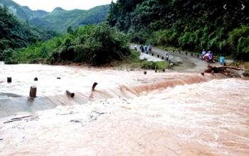 Bắc Bộ mưa lớn, nguy cơ lũ quét, sạt lở đất nhiều nơi