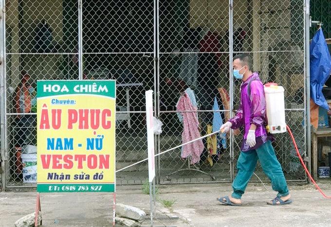 Thành phố Hà Tĩnh phun khử khuẩn diện rộng
