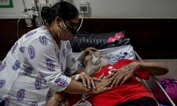 Ca tử vong vì Covid-19 ở Ấn Độ tăng kỷ lục