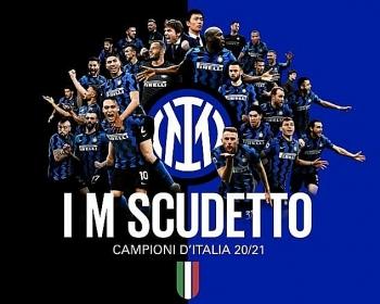Inter vô địch Serie A