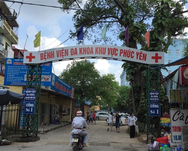 Vĩnh Phúc cách ly toàn bộ Bệnh viện Đa khoa khu vực Phúc Yên - 1