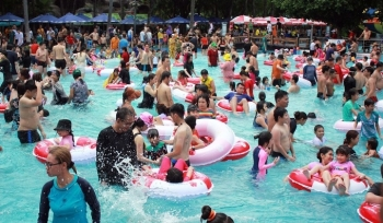 Công viên nước Đầm Sen bị ngưng hoạt động