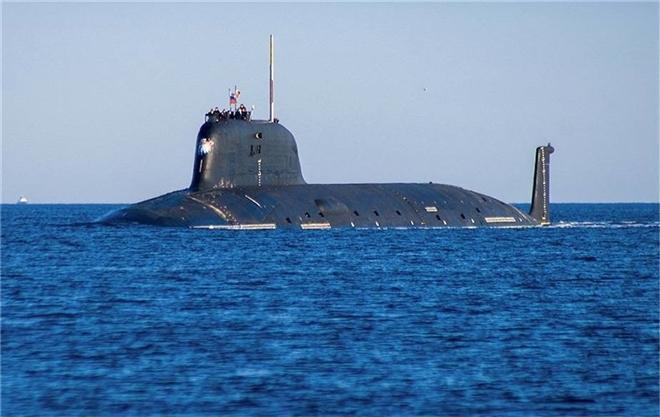 Nga biên chế siêu tàu ngầm tấn công hạt nhân hiện đại nhất