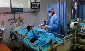 Ca tử vong Covid-19 hàng ngày ở Ấn Độ tăng kỷ lục