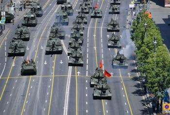 Tổng thống Putin tham dự lễ duyệt binh kỷ niệm Ngày Chiến thắng
