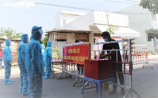 Đà Nẵng diễn tập bầu cử trong trường hợp dịch COVID-19 bùng phát - 1