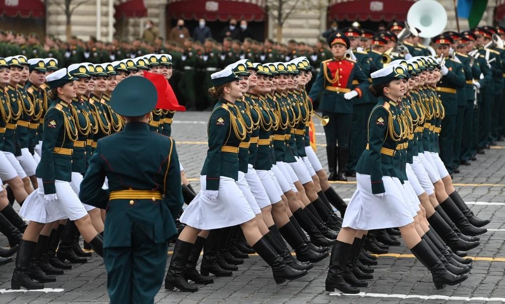 Quân đội Nga phô diễn uy lực trong Duyệt binh Chiến thắng