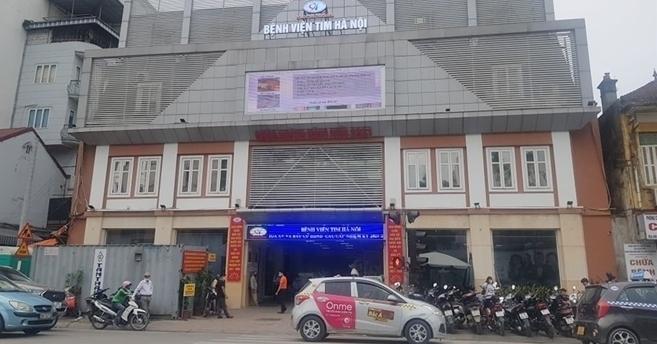Khởi tố vụ án, bắt tạm giam 7 bị can liên quan sai phạm ở Bệnh viện Tim Hà Nội