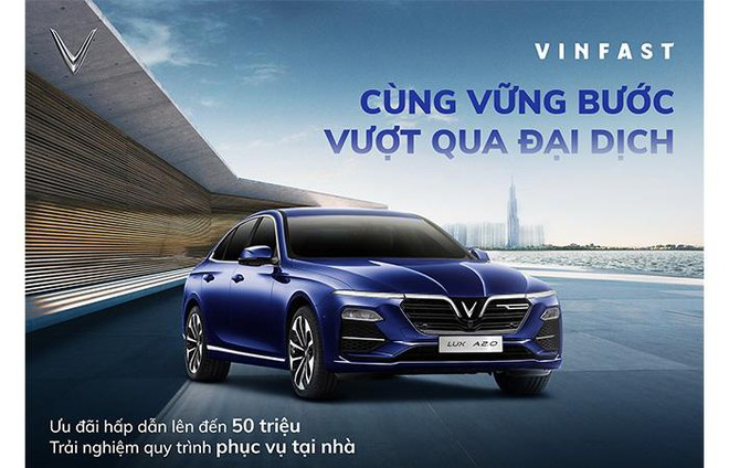 VinFast kích cầu tháng 5: Cơ hội đặc biệt để sở hữu Lux A2.0 chỉ từ 851 triệu đồng