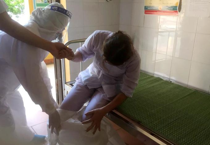 Những ngày kiệt sức của nhân viên y tế Bắc Ninh