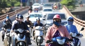 Nắng rát, oi bức từ Hà Nội đến Phú Yên