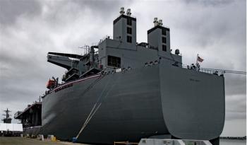"""""""Căn cứ hải quân nổi"""" của Mỹ có thể làm gia tăng căng thẳng với Trung Quốc?"""