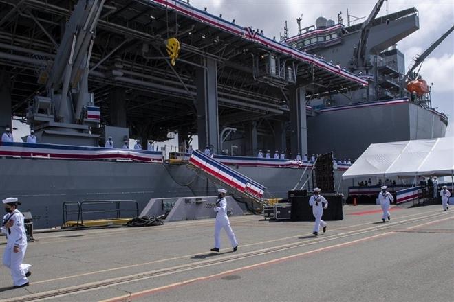 'Căn cứ hải quân nổi' của Mỹ có thể làm gia tăng căng thẳng với Trung Quốc? - 1