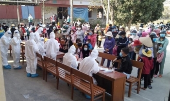 250 sinh viên Hải Dương lên đường chi viện cho Bắc Giang, Bắc Ninh chống dịch
