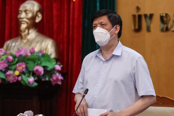"""Bộ trưởng Y tế: """"Ca nhiễm sẽ tiếp tục tăng, Bắc Giang cần đặt báo động cao nhất"""""""