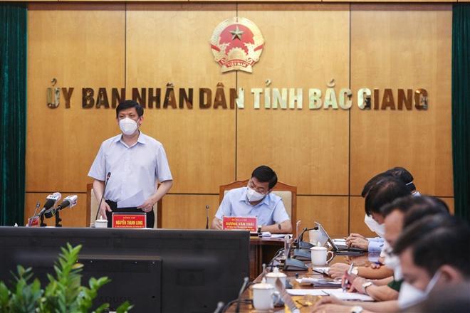 Bộ trưởng Y tế: 'Ca nhiễm sẽ tiếp tục tăng, Bắc Giang cần đặt báo động cao nhất' - 1